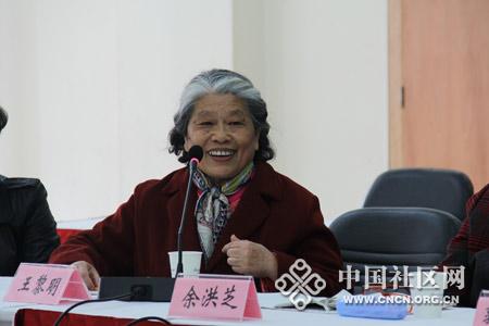 百步亭社区优秀志愿者代表王黎明分享志愿服务经历.jpg