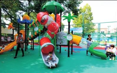 许昌七一社区的儿童游乐园.png