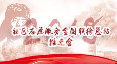 社区志愿服务全国联络总站推进会在武汉百步亭社区召开